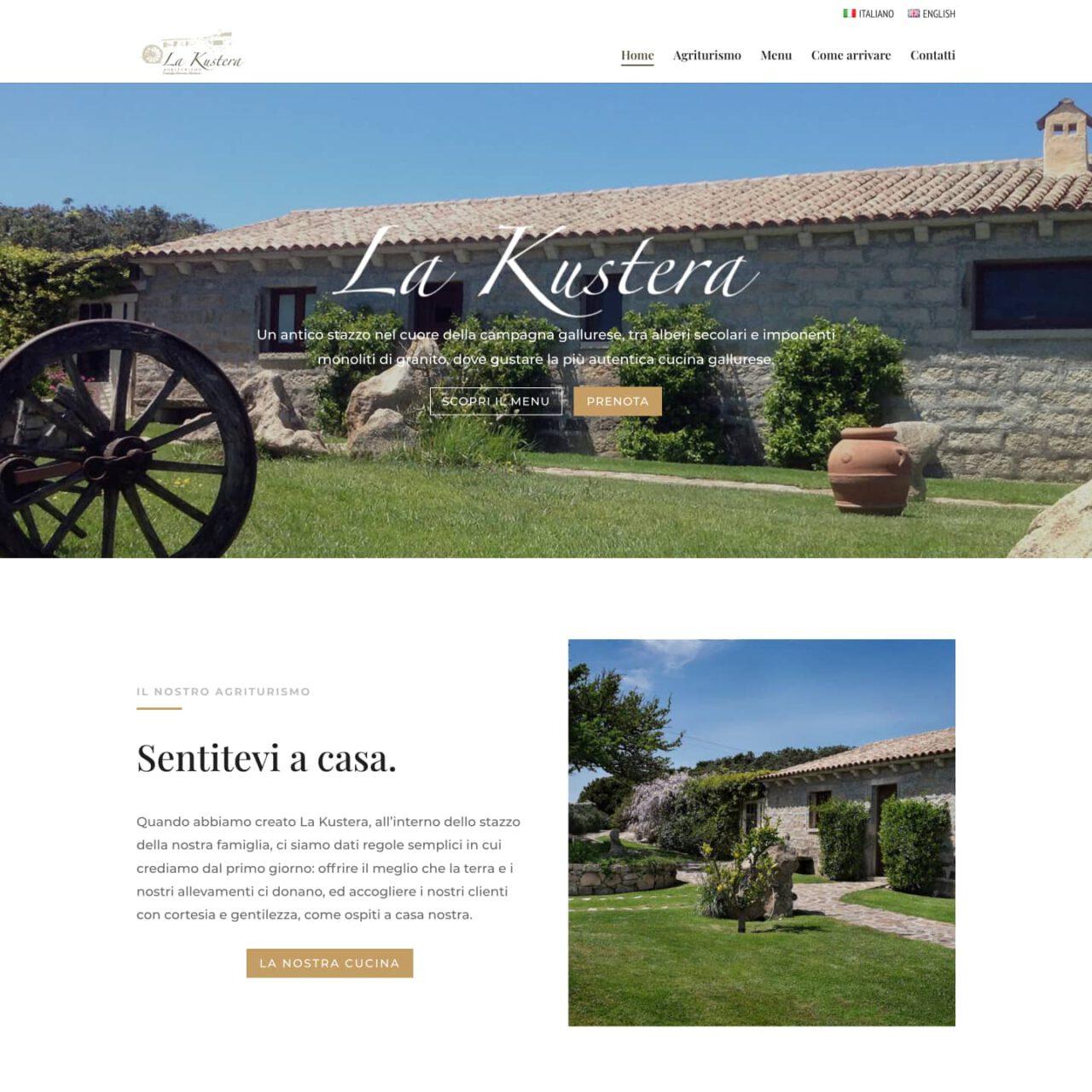 dettaglio home page Agriturismo La Kustera