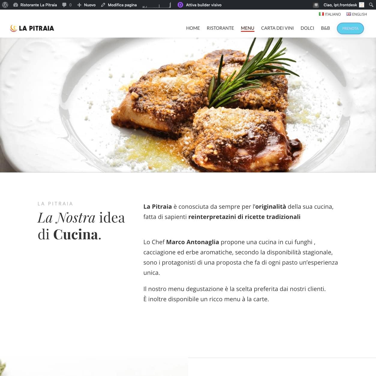 Dettaglio sito La Pitraia