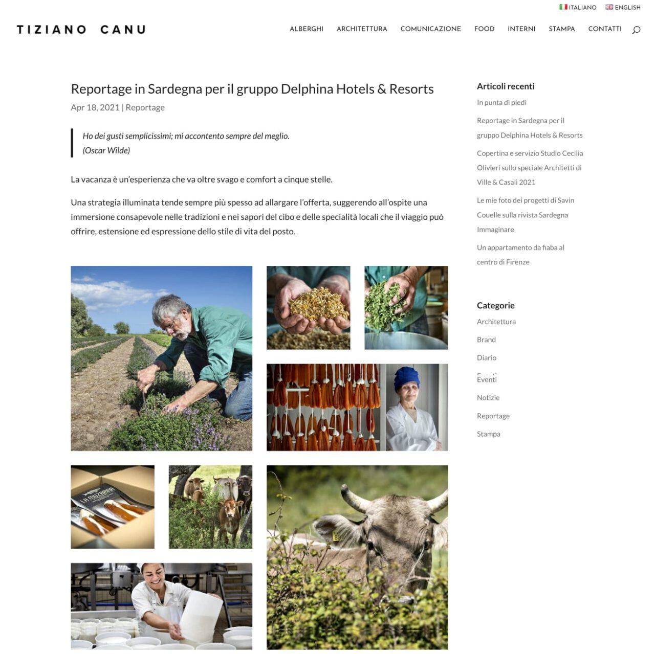 Tiziano Canu Fotografia: articolo blog